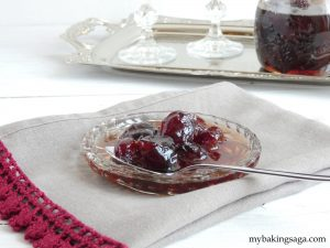 cherries in syrup my baking saga
