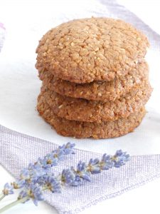 chocolate almond and cinnamon cookies