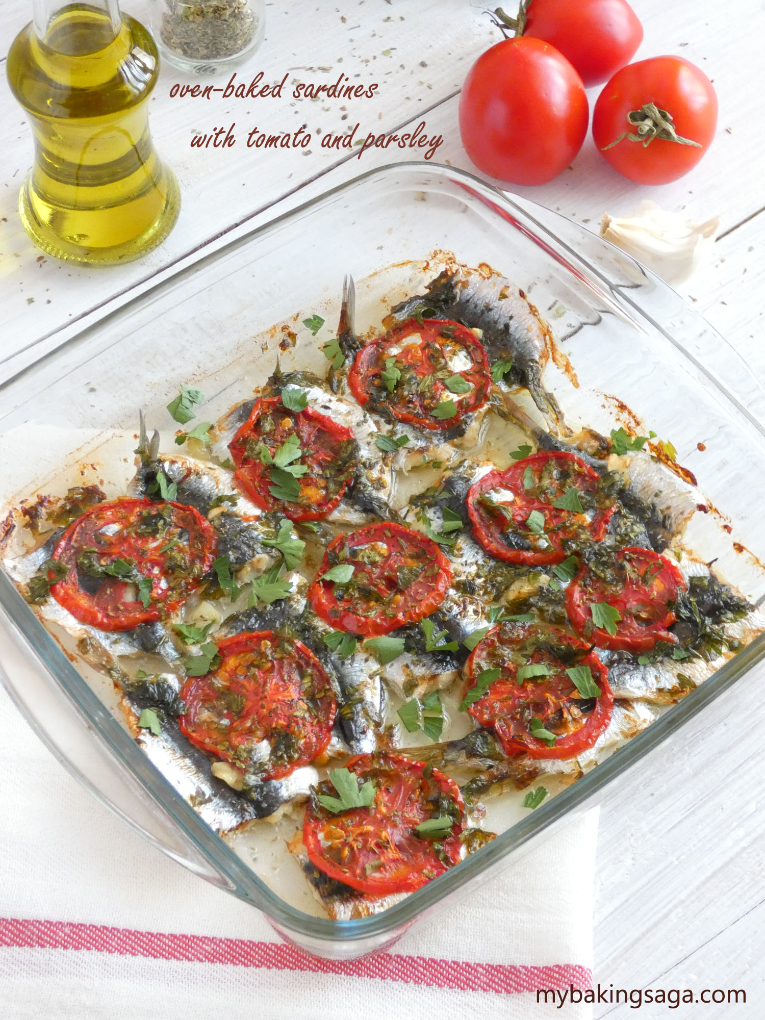 how to cook sardines in oven