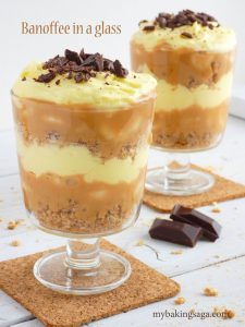 banoffee in a glass