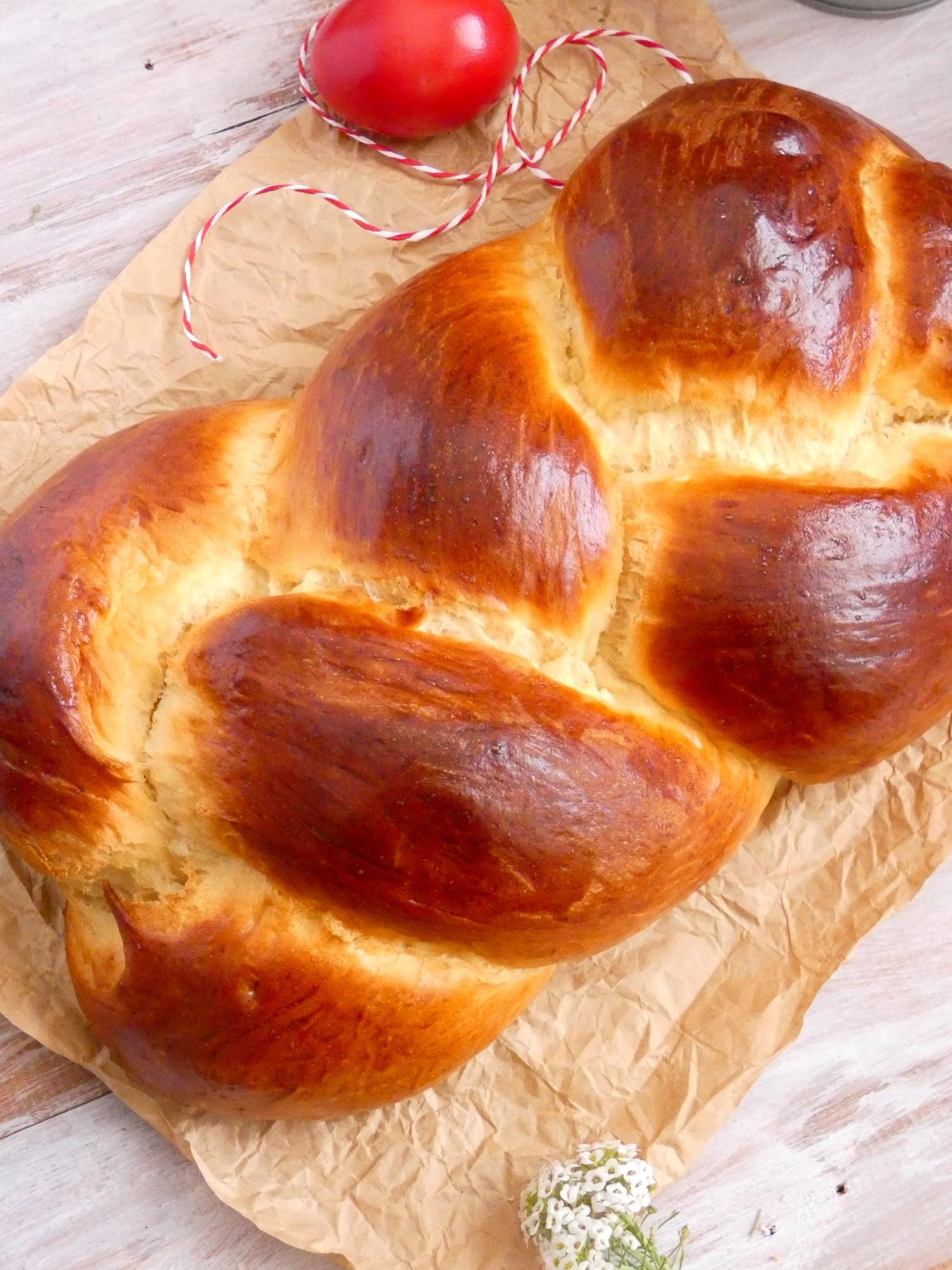 Tsoureki - Greek Easter sweet bread