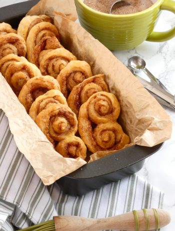 Cinnamon Sugar Palmiers
