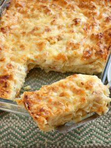 Cheesy Rigatoni Pasta Bake