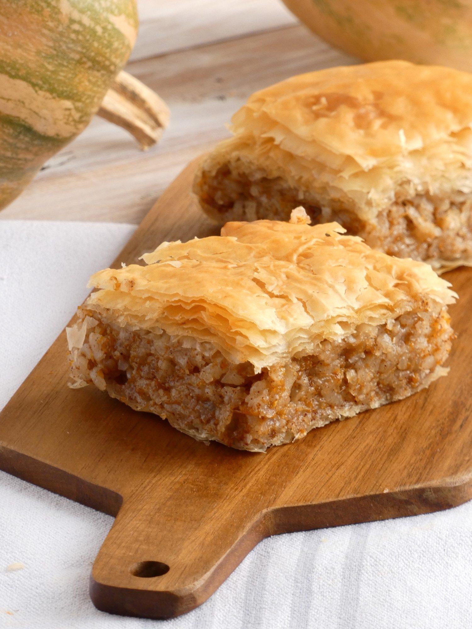 Sweet Pumpkin Pie - Kolokythopita
